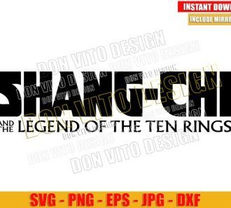 Shang Chi Logo (SVG dxf png) Marvel Movie Logo Cut File Cricut Silhouette Vector Clipart - Don Vito Design Store