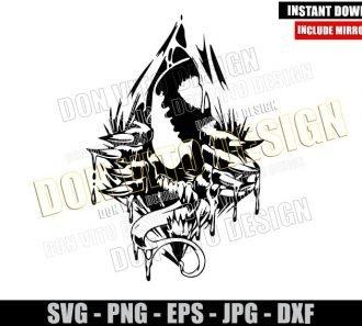Venom Breaking Wall (SVG dxf png) Marvel Movie Villain Cut File Cricut Silhouette Vector Clipart - Don Vito Design Store