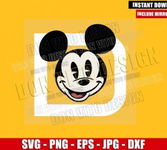 New Mickey WDW Logo (SVG dxf png) Walt Disney World Mouse Head Cut File Cricut Silhouette Vector Clipart - Don Vito Design Store
